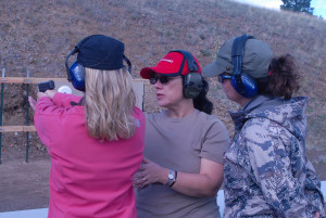 NRA Women on Target course