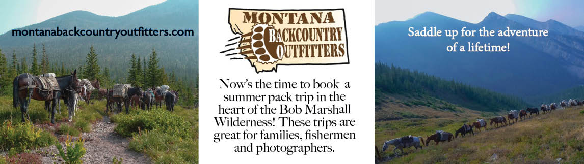 Montana Backcountry Outfitters - Summer Pack Trip