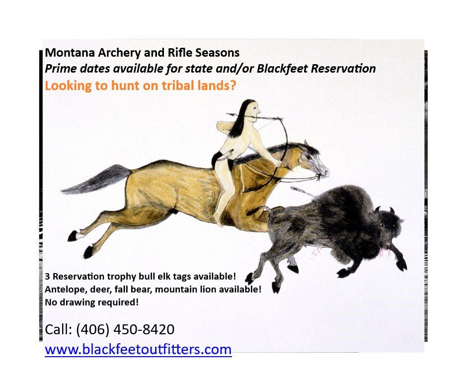 Blackfeet – Tribal Hunt 2019