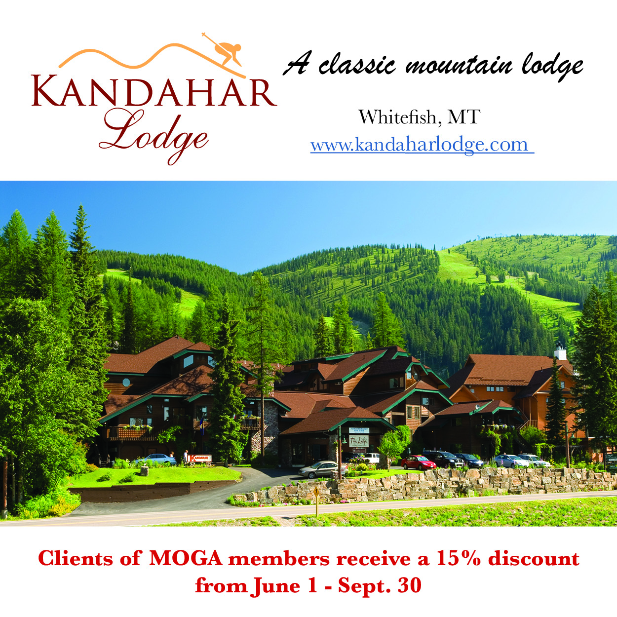 Kandahar Lodge - Summer Ad